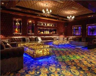 上海荆宜公司为娱乐会所提供装修透光石材